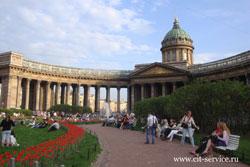Туры в Санкт-Петербург летом