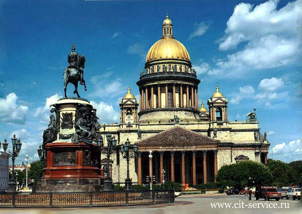 Индивидуальные туры в Петербург