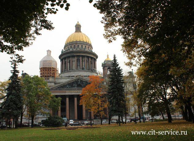 Туры в Петербург осенью